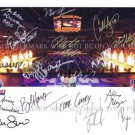 USA OLYMPIC SWIM TEAM AUTOGRAPHED SIGNED RP PHOTO BY 18 MICHAEL PHELPS LOCHTE SONI FRANKLIN