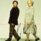 ROBIN WILLIAMS AUTOGRAPHED 8x10 RP PHOTO MRS DOUBTFIRE GREAT COMEDIAN