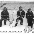 EMERSON LAKE AND PALMER BAND SIGNED AUTOGRAPHED 8x10 RP PHOTO CLASSIC ROCK N ROLL