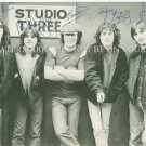 AC/DC GROUP BAND AUTOGRAPHED 6x9 RP PHOTO ANGUS MALCOLM BRIAN AC DC ALL 5 YOUNG