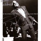 RAY CHARLES AUTOGRAPHED 8x10 RP PROMO PHOTO LEGENDARY