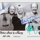 PETER PAUL AND MARY BAND SIGNED AUTOGRAPHED 8x10 RP PROMO PHOTO