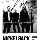 NICKELBACK BAND SIGNED AUTOGRAPHED 8x10 RP PROMO PHOTO AWESOME