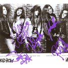 SKID ROW GROUP BAND SIGNED AUTOGRAPHED 8x10 RP PHOTO ROCK N I REMEMBER YOU