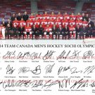 TEAM CANADA MENS OLYMPIC HOCKEY 26 SIGNED 8x10 RP PHOTO SIDNEY CROSBY LUONGO +