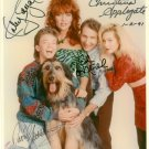 MARRIED WITH CHILDREN CAST SIGNED AUTOGRAPHED RP PHOTO