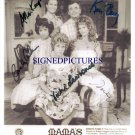 MAMA'S FAMILY CAST 5 SIGNED AUTOGRAPHED RP 8x10 PHOTO MAMAS VICKI LAWRENCE KEN BERRY +