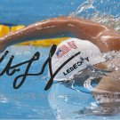 KATIE LEDECKY AUTOGRAPHED SIGNED 6X9 RP PHOTO 2016 OLYMPICS GOLD MEDALIST