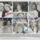 BARBARA WALTERS RICHARD PRYOR LUCILLE BALL AUTOGRAPHED 8x10 RP PHOTO