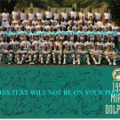 MIAMI DOLPHINS TEAM 1995 AUTOGRAPHED 8x10 RP PHOTO DAN MARINO MCDUFFIE FRYER +