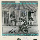 THE ALLMAN BROTHERS BAND SIGNED RP PHOTO BY 4 GREGG GREG WARREN HAYNES DICKEY JAMOE