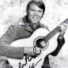 GLEN CAMPBELL SIGNED AUTOGRAPHED 8X10 RP PHOTO RHINESTONE COWBOY GLENN