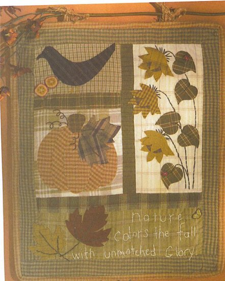 FALL QUILT PATTERN  EASY TO MAKE RETAILS $16.25