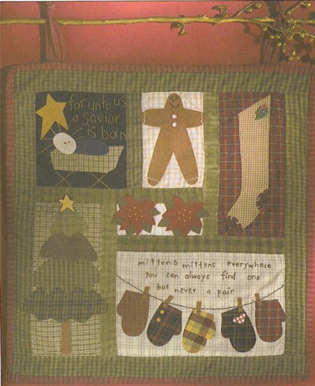WINTER QUILT PATTERN  EASY TO MAKE RETAILS $16.25