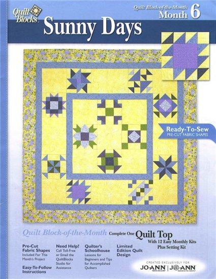 JO-ANN FABRICS Sunny Days Block of the Month Kit #6