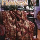 Wild About Flowers Cotton Pickin Designs Quilt Book Leisure Arts