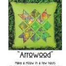 ARROW EASY~ PILLOW PATTERN QUILT SEWING PATTERN FABRIC ZDS1