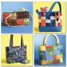 Butterick Pattern B4561 Fat Quarter Purse Purses Handbag ZDS6