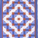 Denver Log Cabin by Lola Hendrickson Quilt Pattern ZDS1
