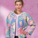Jacket Quilted Butterick Pattern B4400 Retired Out of Print ZDS1