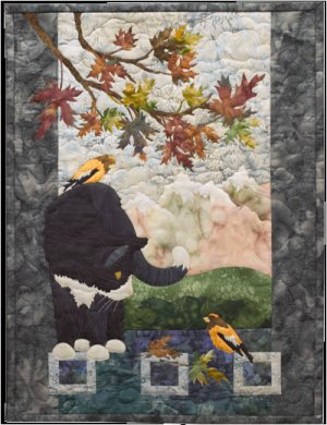 McKenna Ryan Morning Mews Clifford Pine Needles Quilt Pattern