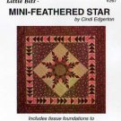 MINI-FEATHERED STAR by Cindi Edgerton ZDS1