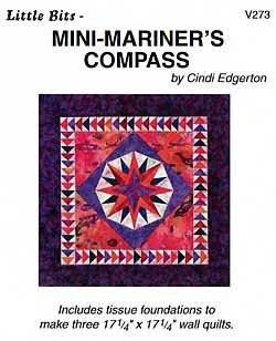 MINI-MARINER'S COMPASS by Cindi Edgerton ZDS1