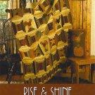 RISE SHINE Cheri Saffiote Indygo Junction Quilt Pattern ZDS1
