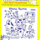 Aunt Martha's Iron on Transfer Hilarious Holsteins 3893 ZDS1