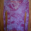 Vintage Havanna T-shirt Pink Long Sleeve Size M