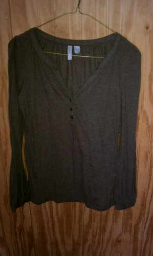 Old Navy Long Sleeve Brown T-Shirt Size XS