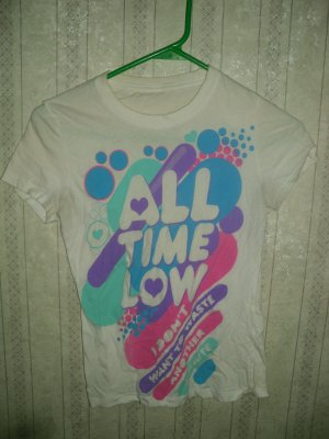 All Time Low T; Girls: X-S - SM