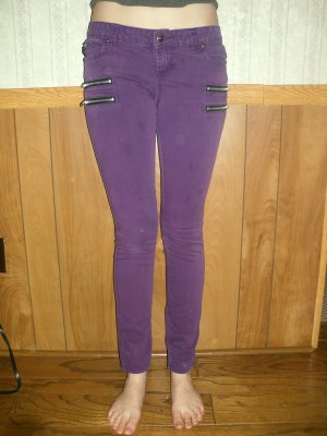Tripp; Purple Skinny Jeans; Girls Size 5