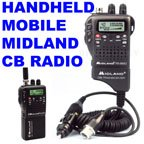 Micro Size 40Ch CB 75-822 Midland Handheld/Mobile