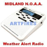 WR-100 Early Alert Midland NOAA Weather Radio