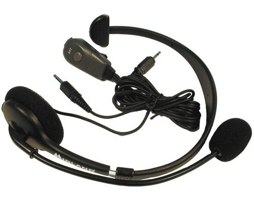 Midland CB Boom-Mic Headset Model 22-540 NEW