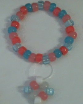Cotten candy Diamond Glow Bracelet