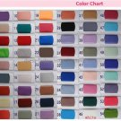 Standard Size Chart & Color Swatches & Measure Guide Chart  For Wedding Dress & Evening Dress