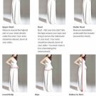 Standard Size Chart / Color Swatches/ Maternity Measure Guide Chart For Wedding Dress & Events Dress