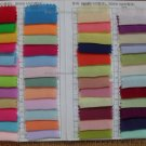 Real Chiffon Materials For Wedding/Evening Dress Handcraft Color Swatches 2-4 Styles 10X10cm