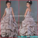Junior Bridesmaid Dress Prom Party Dress Flower Girl Dress Baby Dresses Sz2 3 4 5 6 7 8 9 10+ Custom
