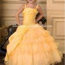 Orange Junior Bridesmaid Dress Prom Party Dress Flower Girl Dress Baby Dresses Sz2 3 4 5 6 7 8 9 10+