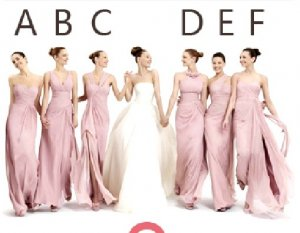 6 Styles Strapless One Shoulder Evening Dress Prom Dress Long Pink Bridesmaid Dress