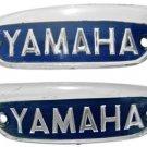 Yamaha YG1 YG1K YG1T YG1TK L&R Fuel Gas Tank Emblem NOS