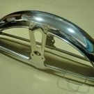 Honda CB100 CB125 CB175 CD125 CL100 S90 Front Chrome Fender NOS