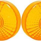 Suzuki TS75 TS100 TS185 TC125 GT185 GT250 GN400 Turn Signal Lens Nos