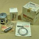 Genuine Yamaha DT125MX Piston and Rings Kit Set Size STD Nos