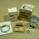Genuine Yamaha DT100 DT100C X Piston and Rings Kit Set Size 0.25 NOS