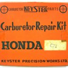 Genuine Honda CA72 C72 Complete Carburetor Repair Kits Nos