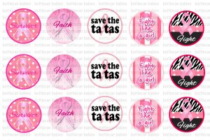 Breast Cancer Bottlecap image